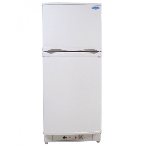 Superior 6 Cubic Foot Propane Gas Refrigerator White (LPG or 110V)